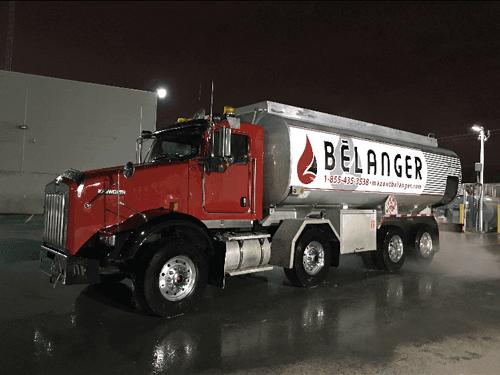 mazout camion eau